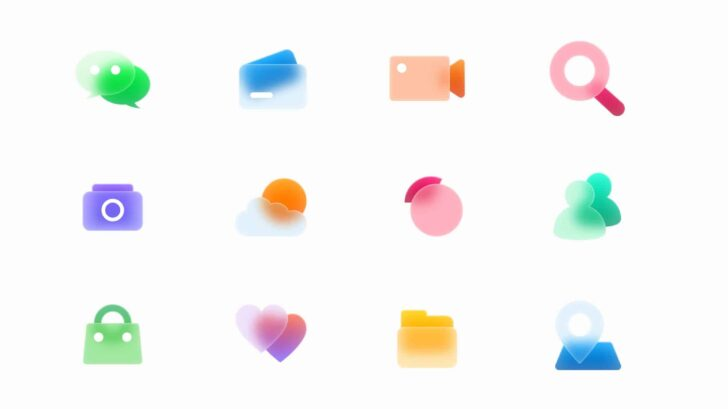 Free Beautiful Translucent Glass Icons for Sketch, Adobe Xd and Figma - All shapes are compatible with Sketch, Adobe Xd and Figma, as well as organized file, unique icons, resize the image without loss of quality to suit your needs and easy-to-change colors.