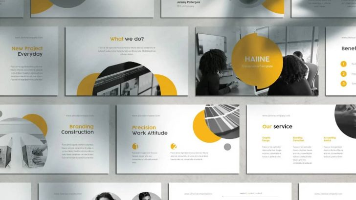 Haiine Presentation Template - is an elegant, sleek, easy-to-use template made for PowerPoint and Google Slide. Its multipurpose design allows you to use it for any field including interior design, home decoration, photography, portfolio, business, fashion, travel, proposal presentations.